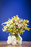 Wildflowers bouquet Stock Photography