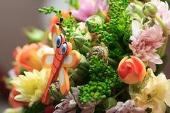 Wildflowers decor Stock Image