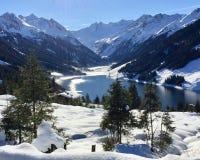 Wildkarspitze Imagem de Stock