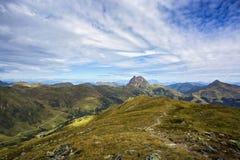 Wildkogel Panorama Path in High Tauern. Austria Stock Images