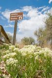 Wildlife. A sign pointing to a wildlife viewing area in colorado Stock Photography