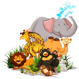 wildlife vector illustratie