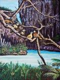 Wildlife of the bird on the tree Stock Photo