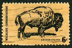 Wildlife Conservation USA Postage Stamp Stock Photography