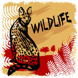 Wildlife design vector Royalty Free Stock Photography
