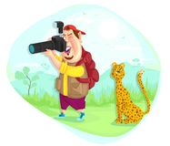 Wildlife Photographer Royalty Free Stock Photo