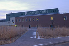 Wildlife Refuge Visitor Center in Bloomington Stock Image