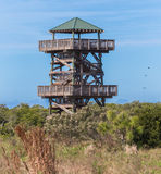 Wildlife Viewing Tower Stock Images