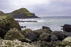 Wildness de la côte du nord en Irlande du Nord images stock