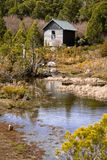 Wildnis-Hütte Stockbilder