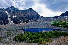 Wildnis in Rocky Mountains Stockfoto