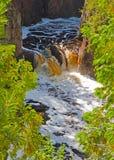 Wildnis-Wasserfall Lizenzfreies Stockbild