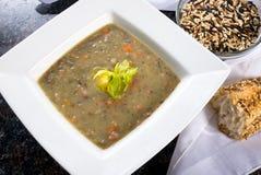 Wildreis-Suppe Stockbild