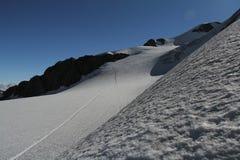 Wildspitze, alpes d'Otztal, Autriche Image stock