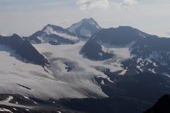 Wildspitze, alpi di Otztal, Austria Immagine Stock Libera da Diritti