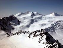 Wildspitze en Austria imagen de archivo