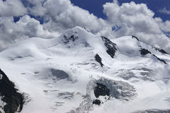 Wildspitze. (3 774 m) - the highest mountain in the Otztal Alps, Austria Royalty Free Stock Photo