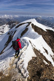 Wildspitze. The second highest mountain in Austria Royalty Free Stock Images