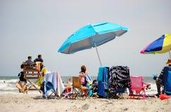 Wildwood海滩 免版税库存图片