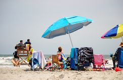Wildwood Beach Royalty Free Stock Images