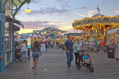 Wildwood Boardwalk Fun Royalty Free Stock Images
