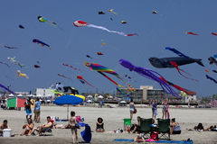 Wildwood International Kite Festival Royalty Free Stock Photography