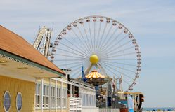 Wildwood New Jersey Boardwalk Stock Photography