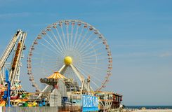 Wildwood New Jersey Boardwalk Stock Images