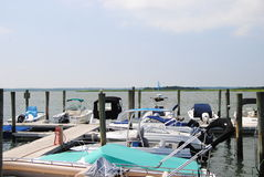 Wildwood New Jersey Marina Stock Images