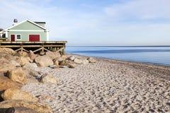 Wildwood plaża Obrazy Royalty Free