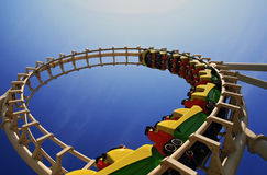 Wildwood roller coaster Royalty Free Stock Photography