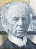 Wilfrid Laurier portrait. From Canadian money Royalty Free Stock Photography