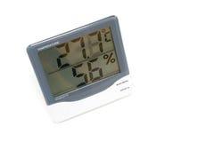 Wilgotność i temperatura Zdjęcia Royalty Free