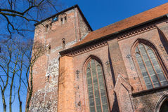 Wilhadi church in the Hanseatic city of Stade Royalty Free Stock Image