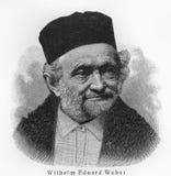 Wilhelm Eduard Weber Imágenes de archivo libres de regalías