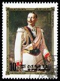 Wilhelm II, Portretten van Europese Heersers serie, circa 1984 royalty-vrije stock foto's