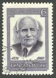 Wilhelm Pieck Stockbilder