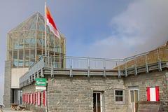 Wilhelm Swarovski Observatory at Grossglockner, Austria Stock Photos