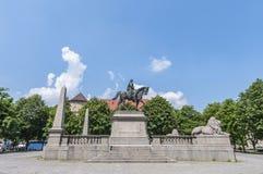 Wilhelm von Rumann in Stuttgart, Germany Royalty Free Stock Photography