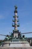 Wilhelm von Tegetthoff Monument Vienna Royalty Free Stock Image