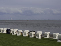 Wilhelmshaven海滩 库存图片