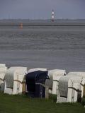 Wilhelmshaven plaża obraz royalty free