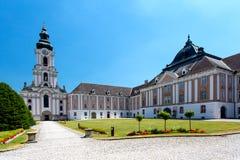 Wilhering Abbey, Stift Wilhering, Austria stock image