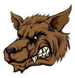 Wilk lub wilkołaka charakter Zdjęcia Stock