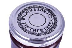 Wilkin et pot de confiture de Tiptree Essex de fils Photos libres de droits