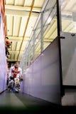 Wilking van Paolo Della Bella aan de het schaatsen piste Stock Afbeelding