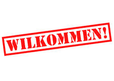 WILKOMMEN! Royalty Free Stock Photography