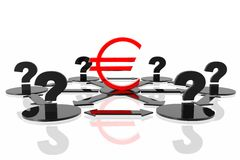 That will be with euro? Royalty Free Stock Images