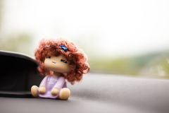 Will be shaking his head doll car Stock Photography