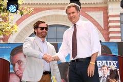 Will Ferrell,Zach Galifianakis Stock Photo